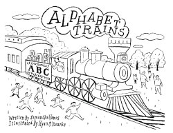 alphabet trains children's picture book